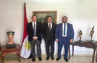 سفير مصر في غانا يشيد باختيار مصري لمنصب مدير التجارة في السِلعِ بسكرتارية منطقة التجارة الحرة القارية صو