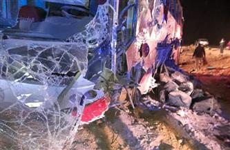 ننشر أسماء المصابين في حادث انقلاب أتوبيس جنوب مرسى علم
