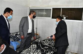 «الأنصاري» يوجه بصرف إعانات عاجلة لضحايا حادث تصادم طريق أسيوط الغربي بالفيوم | صور