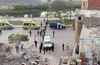 انهيار منزل بحي أول محافظة الإسماعيلية دون إصابات   صور