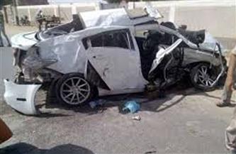 صحة مطروح: مصرع وإصابة 4 في حادث تصادم على طريق السلوم