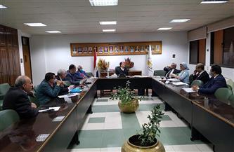 جامعة أسيوط تعقد أول اجتماعات مناقشة تعديل بعض مواد قانون تنظيم الجامعات| صور