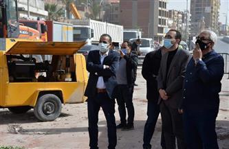 محافظ الإسماعيلية يتابع رفع أنقاض المنزل المنهار وتشكيل لجنة لفحص العقارات المجاورة| صور