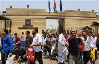 العفو عن باقي العقوبة لبعض المحكوم عليهم بمناسبة الاحتفال بعيد تحرير سيناء