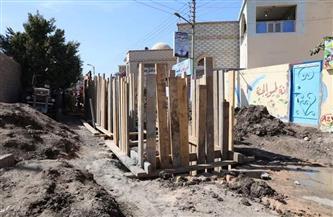 """نائب محافظ سوهاج يتفقد مشروعات """"حياة كريمة"""" بمركز دار السلام  صور"""