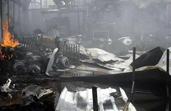 ارتفاع حصيلة ضحايا حريق مركز المهاجرين في صنعاء إلى أكثر من 80 شخصا