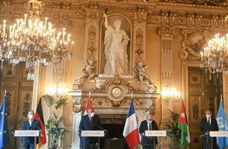 وزير خارجية فرنسا: نعمل على إقامة حل الدولتين بحسب الحدود المتفق عليها