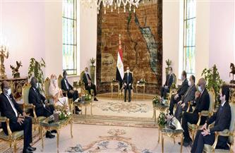 الرئيس السيسي: الثوابت التاريخية تمثل نهجًا راسخًا للسياسة المصرية في ظل المرحلة الانتقالية الحالية للسودان