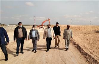 مرسى مطروح: مدفن صحي بطريق سيوة بتكلفة 60 مليون جنيه | صور