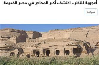 تحقيقان صحفيان يبرزان أهمية موقعين أثريين في مصر | صور