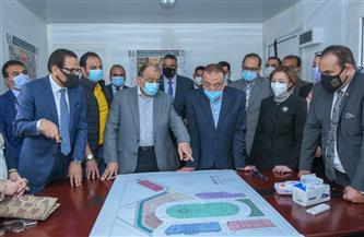 وزير التنمية المحلية يتابع أعمال مشروع تطوير ميدان محطة مصر بالإسكندرية   صور