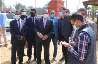 محافظ سوهاج يتفقد أعمال إنشاء كوبري الثقافة وتطوير شارع التحرير | صور
