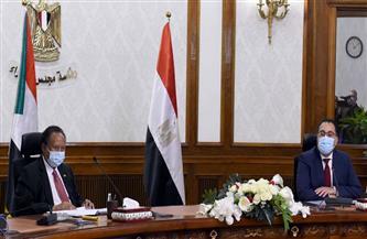 خلال مباحثاته مع نظيره السوداني.. مدبولي: نتشارك قلقنا في ملف سد النهضة