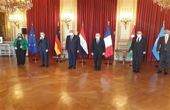 13 توصية تلخص نتائج اجتماع وزراء خارجية «الرباعية من أجل السلام» في باريس  صور