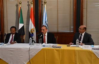 تفاصيل زيارة رئيس وزراء السودان لمؤسسة الأهرام  صور