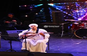 محمود التهامي يتغنى بقصائد المدح والإنشاد خلال احتفاله بليلة الإسراء والمعراج  صور