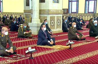 بث مباشر  الرئيس السيسي يؤدي صلاة الجمعة بمسجد المشير طنطاوي