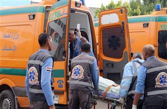 إصابة شخصين فى انقلاب سيارة ملاكى بوادى النطرون