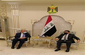 وزير الري يصل العراق للمشاركة في مؤتمر بغداد الدولي للمياه |صور