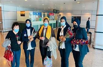 مطار الغردقة الدولي يستقبل أول رحلة جوية من أوزباكستان| صور