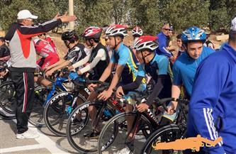 مدينة الفيوم الجديدة تستضيف ماراثون سباق الدراجات لتشجيع الرياضة | صور