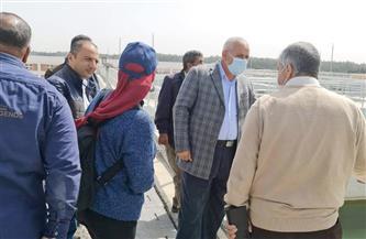 مسئولو «الإسكان» يتفقدون مشروعات مدينة السادات