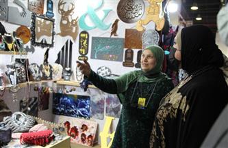 """جامع في معرض """"البازار"""": الدولة حريصة على دعم قطاع الصناعات التراثية وتطوير إنتاجه"""
