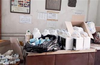 ضبط 319 عبوة دواء بيطري مخالف في حملة تفتيشية بالشرقية   صور