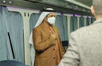 السفير الإماراتي بالقاهرة: الرئيس السيسي يقود نهضة اقتصادية.. ومصر دولة جاذبة للاستثمار