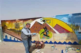 محافظ أسيوط يشيد بتطوير طلاب ومعلمي مدارس التعليم الفني لكورنيش النيل | صور