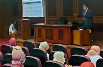 دورة تدريبية مشتركة لأطباء الرعاية المركزة بجامعة الفيوم   صور