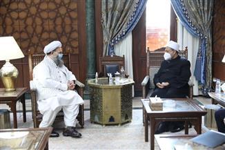وزير الشئون الدينية الباكستاني يشيد بجهود مصر في نشر الفكر الوسطي