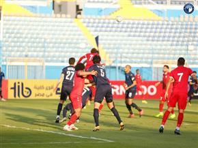 العبور يحرز هدف التعادل أمام بيراميدز في كأس مصر