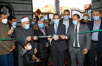محافظ الغربية يفتتح مسجدين بتكلفة 3 ملايين جنيه ويتفقد السوق النموذجية ببسيون| صور