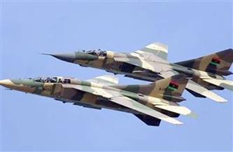 """سلاح الجو الليبي يدك مواقع """"داعش"""" في أوباري"""