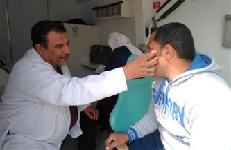 الكشف على 1500 مريض بقرية الحلافي في كفر الشيخ | صور