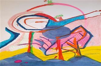 """معرض """" أشجار طفولية"""" آرت سيكولوجي للفنانة الدكتورة وفاء ياديس  صور"""