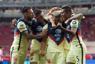 كلوب أمريكا يعزز موقعه في المركز الثاني في الدوري المكسيكي بالفوز على تشيفاس