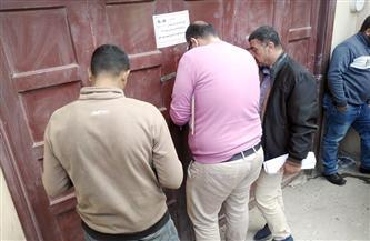غلق وتشميع ورفع عدادات كهرباء ومياه لـ17 محلا وبدروما مخالفًا بمدينة دمياط الجديدة | صور