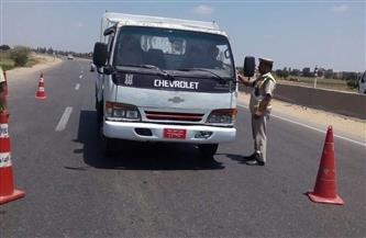 إجراء فحص المخدرات لـ390 سائقًا على الطرق السريعة خلال 9 أيام