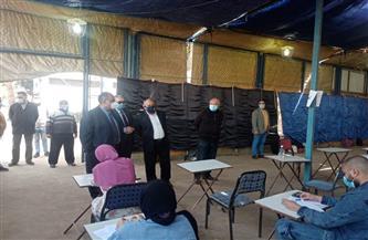 نائب رئيس جامعة عين شمس يتفقد كلية الزراعة والامتحانات |صور