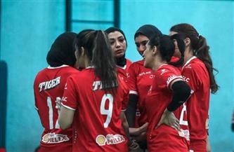 سيدات طائرة الأهلي يواجهن الصيد في نهائي كأس مصر