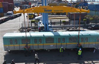 """وصول القطار السابع للمترو ومكونات """"الأول"""" ضمن الـ 10 قطارات التى سيتم تجميعها محليًا  صور"""