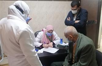 تطعيم 500 مواطن من كبار السن وذوي الأمراض المزمنة منذ بدء الحملة بالدقهلية |صور
