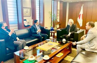 سفير اليابان بالقاهرة يؤكد لرئيس حزب المؤتمر تطلع بلاده لتوسيع أوجه التعاون مع مصر