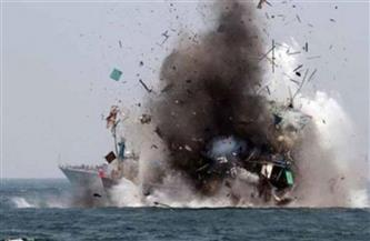 التحالف العربي: تدمير زورق مفخخ لميليشيا الحوثي قبيل تنفيذه هجوما قبالة ميناء الصليف