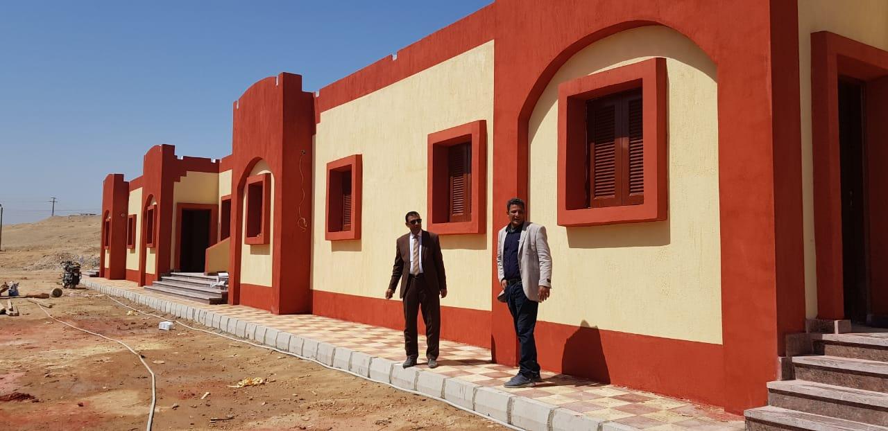 الانتهاء من إنشاء 10 بيوت أنوال جديدة