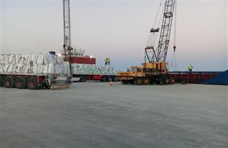 تصدير 3100  طن ملح إلى إيطاليا من ميناء العريش