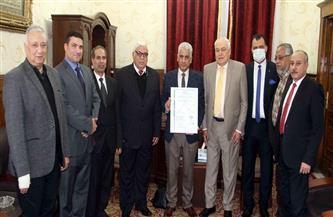 قسم الترجمة بمحكمة استئناف القاهرة يحصل على شهادة الأيزو 9001
