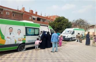 """12 قافلة طبية أطلقتها الصحة ضمن مبادرة """"حياة كريمة"""" تختتم أعمالها غدا"""